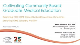 3. Bolster Clinical and Quality Measures & Enrich Scholarly Activity