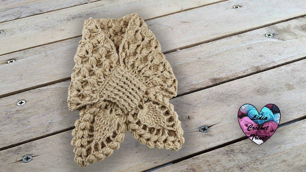 écharpe Croisée Toutes Tailles Crochet