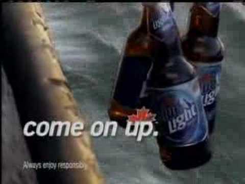 Funny Labatt Blue fish and deer commercials