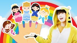 슈퍼히어로 엘사 공주 프린세스 핑거송 같이불러요! Superhero Princess Five Finger Family kids Song- 슈슈토이 Shushu ToysReview