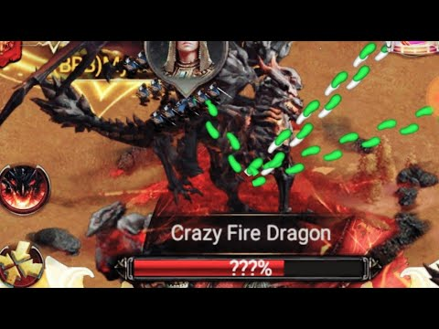 Clash Of Kings : Crazy Fire Dragon - How To Score More Points