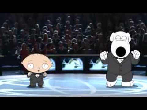 Brian & Stewie At the Emmy Awards 2007 (Opening)