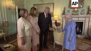 Czech President meets UK Queen