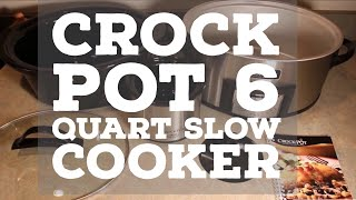 Crock Pot 6 Quart Slow Cooker Little Dipper Combo Recipe