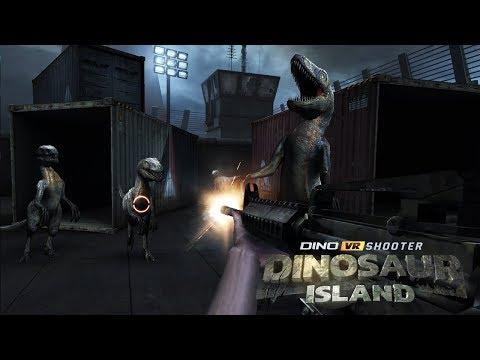 Dino VR Shooter: Dinosaur Hunter Jurassic Island  Android Gameplay ᴴᴰ