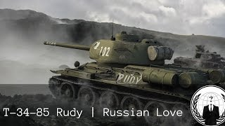T-34-85 Rudy From Russia with Love | World of Tanks Blitz