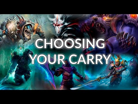 Carry Hero Picking Guide  | Dota 2 Guide for Beginner, Intermediate and Advanced Players
