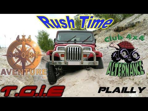 "[T.G.I.E] Plailly 2015: ""Rush Time"" (Jeep Wrangler YJ 1992)"