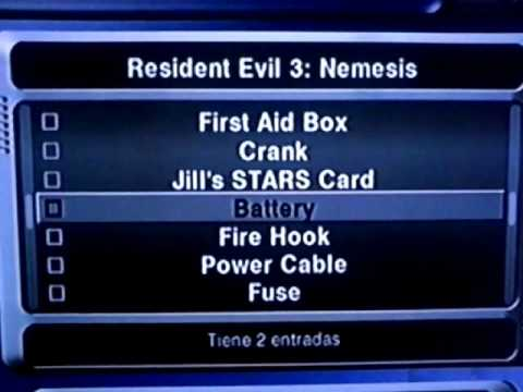 Resident Evil 3 Nemesis Gamecube Action Replay Codes Youtube
