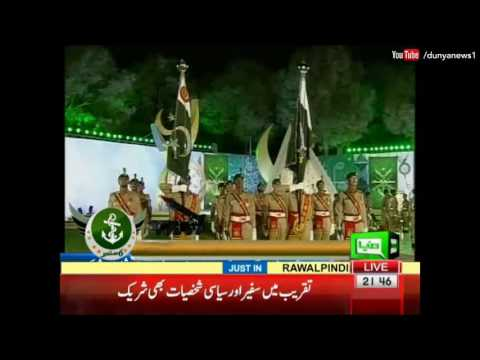 Army Chief warns enemies at 6th September GHQ Event - Dunya News