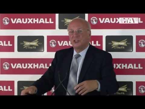 FA Chairman Greg Dyke on the future of English football