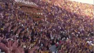 "(EXPLICIT!) LSU Student Section Sing ""Neck"" Chant in Tiger Stadium: Death Valley"