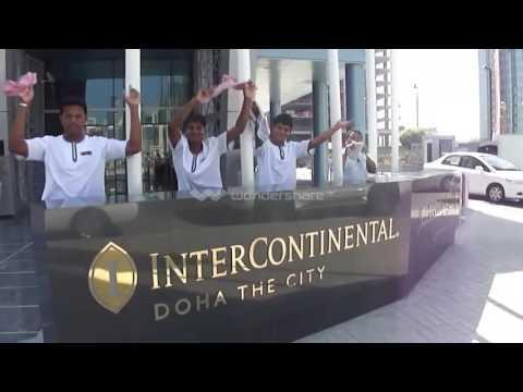 Intercontinental Doha the City 2014 - Service week parody