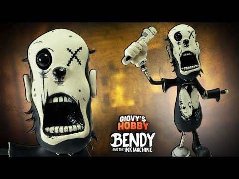 "PIPER (CHARLEY from BUTCHER GANG) ""TUTORIAL"" ➤ Bendy and the ink machine: CHAPTER 3 ★ Polymer clay"