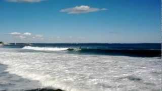 Surfers at Reid State Park, Georgetown, ME