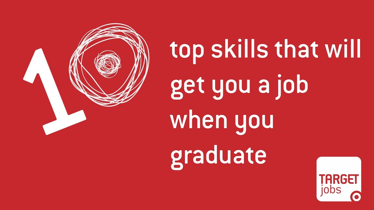 What are the top 10 skills that'll get you a job when you