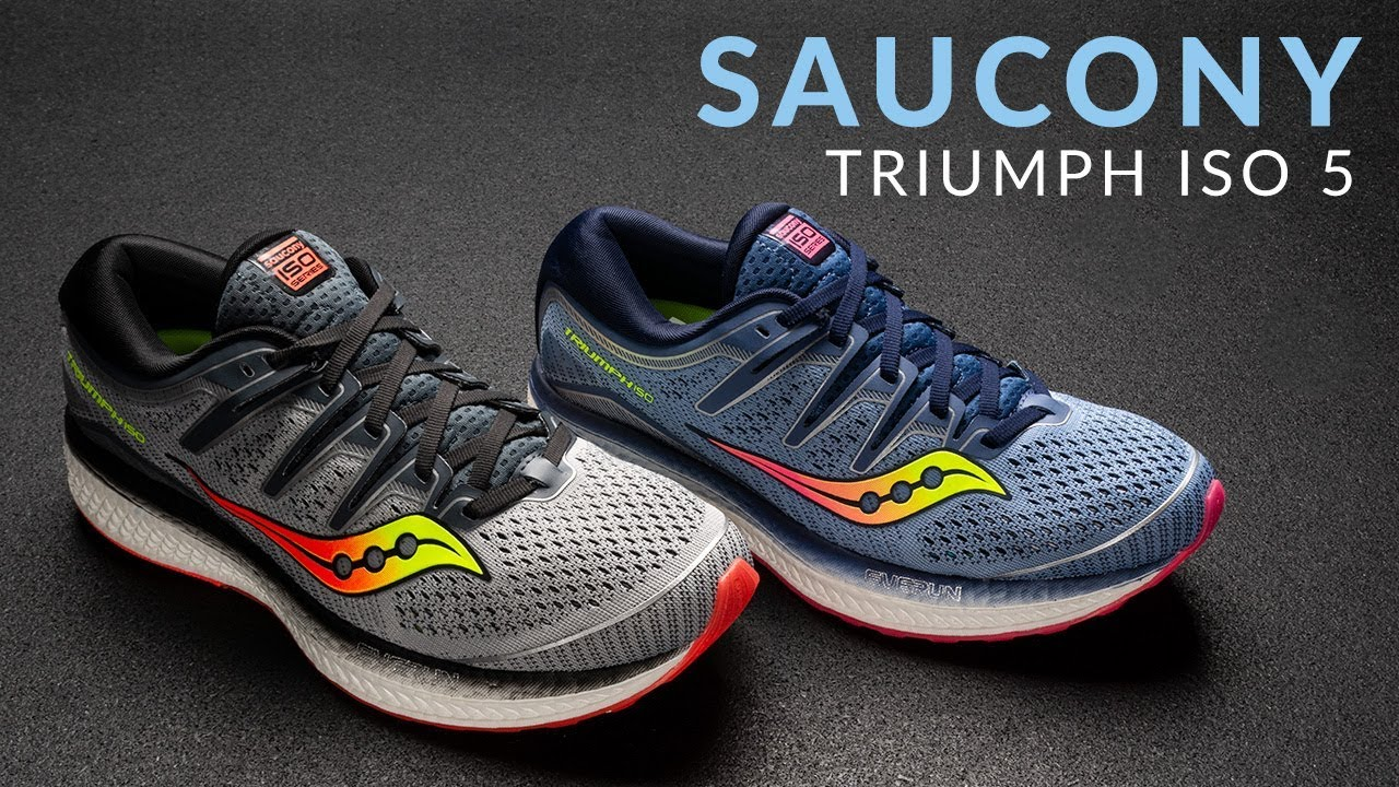 Saucony Triumph ISO 5 Running Shoe Overview