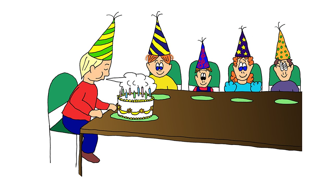 Esl easy listening comprehension 4 the birthday party youtube freerunsca Image collections