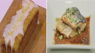 كيكة بالكوسة - سمك سالمون بالصويا صوص و العسل و وصفات اخرى | نص مشكل حلقة كاملة