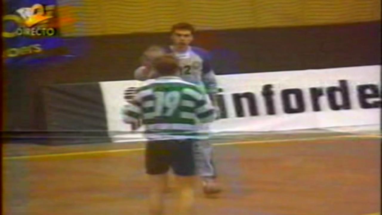 Andebol :: 07J :: Belenenses - 25 x Sporting - 22 de 1995/1996