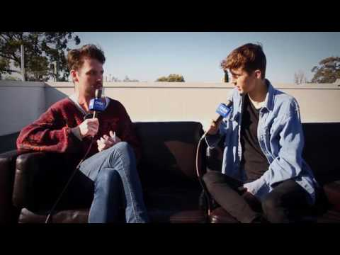 Troye Sivan Talks YouTube Fan Festival And Plays 'In A Word'