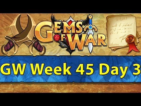 ⚔️ Gems of War Guild Wars | Week 45 Day 3 | Ishbaala Infernus ⚔️