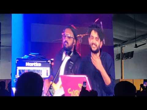 Sid Sriram,Kebha-Inkem Inkem 8 minutes live performance @ YMCA,Chennai