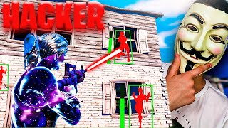I spend a day being HACKER in Fortnite and I BANEAN...
