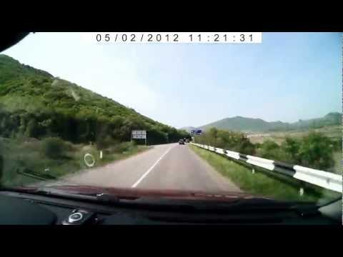 дорога в судак на машине видео