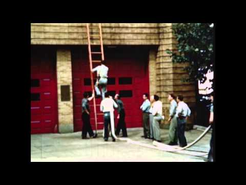 Bethlehem PA Fire Dept in the 1950's  ***Now in HD***