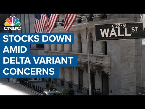 Stocks skid amid Covid Delta variant concerns