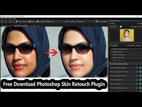 Skin Finer 2.0 |Free Download & Install Guideline | Photoshop Skin Retouch Plugin