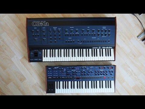 DSI OB-6 (2016) vs. Oberheim OB-Xa (1981) Analog Synthesizer Battle