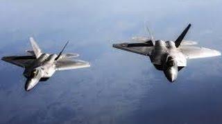 挑戰新聞軍事精華版--美軍空襲伊斯蘭國,首次動用「F-22」戰機
