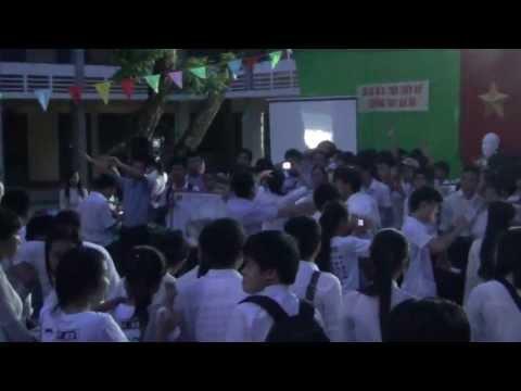 Phần cuối của Lễ tri ân và trưởng thành k2010-2013-GIA HỘI HUẾ