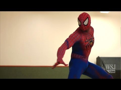 "Extreme Spider-Man Workout: ""Parkour,"" Stuntman Poses & More - WSJ Off Duty"