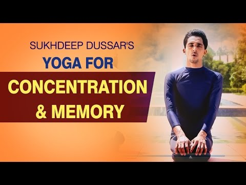 Yoga for Concentration and Memory - Simple Yoga Asanas - Yoga For Focus