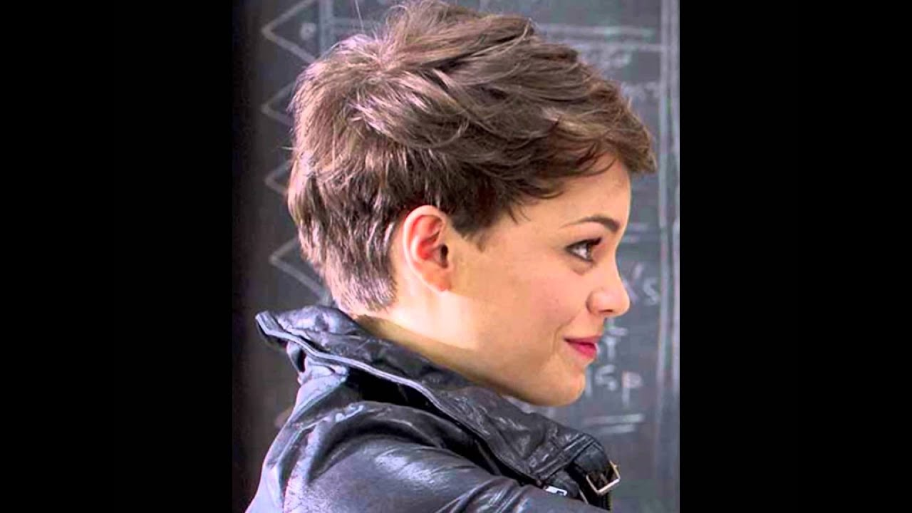 pixie haircut for round face - youtube
