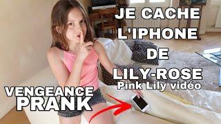 VENGEANCE PRANK - JE CACHE L'IPHONE DE @PINK LILY VIDÉO  !