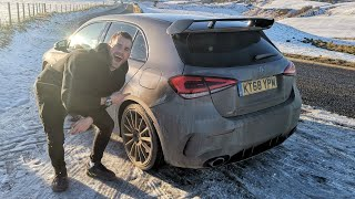 I BOUGHT A MERCEDES A35 AMG FIRST DRIVE