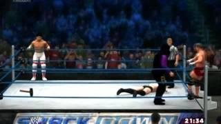 【WWE2K14】プリンス・デヴィット&菊地毅 vs 外道&ダーク・オズ【XBOX360】