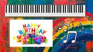 تعليم عزف نغمة عيد الميلاد happy birthday بالاورج