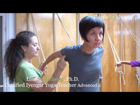 Rope 1 with Lois Steinberg,  Certified Iyengar Yoga Teacher Advanced 2
