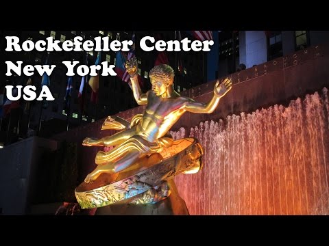 Rockefeller Center New York City Attractions - What Things To Do In NYC US - Travel NY USA - Jazevox