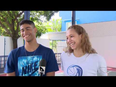 Pedro Nunes e Izabel Varejão - ES TV 1a Edição 21/08/2017