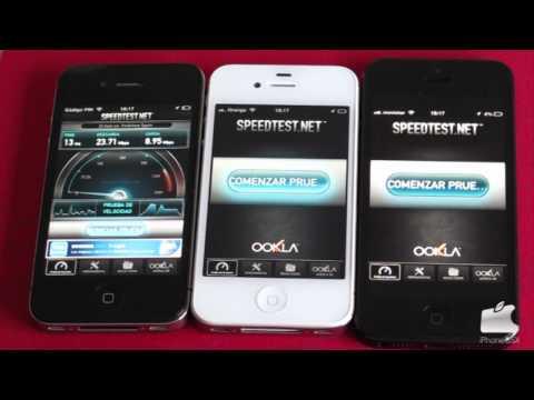 Test velocidad wifi iPhone 5 - iPhone 4S - iPhone 4 | iPhoneOSX.com