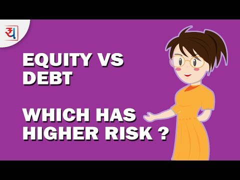 Equity vs Debt Analysis -  Which has higher Risk? | Understanding Risk in Equity & Debt Investments