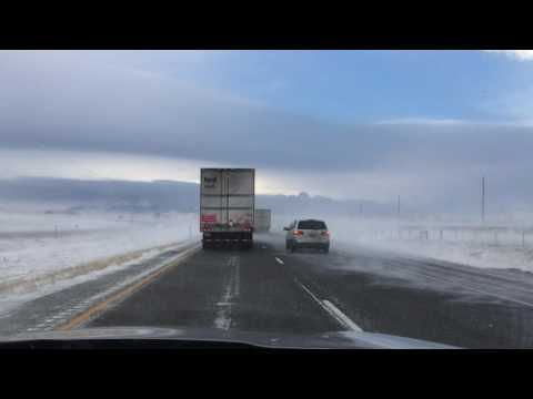 I-90 Between Billings and Livingston Montana