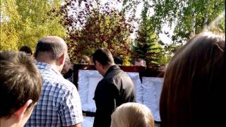 Похороны и прощание с Аркадием Кобяковым23.09.2015