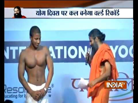 International Yoga Day 2018: More than 100 world records to be created in Kota tomorrow, says Ramdev